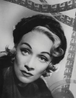 Marlene Dietrich, by Angus McBean, 1951
