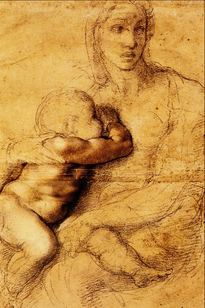 La Madonna che Allatta il Figlio Michelangelo Buonarroti