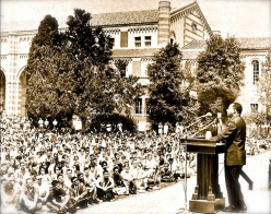 Martin Luther King UCLA1965