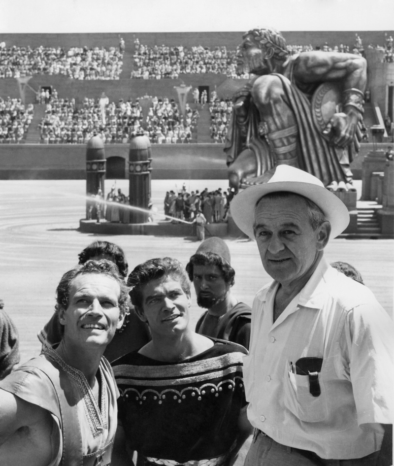 Charlton Heston (Best Actor), Stephen Boyd, and William Wyler (Best Director) - Ben-Hur 1959