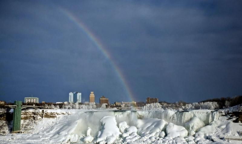 Niagara Falls, Photograph by Lindsay Dedario for Reuters