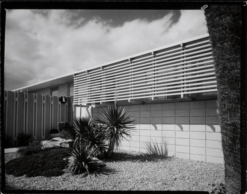 Bradbury House photographed by Julius Shulman