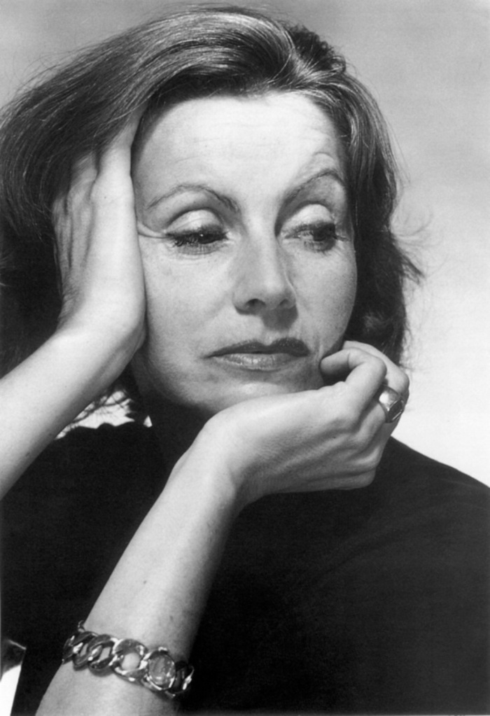 Greta Garbo, photo by Baron George Hoyningen-Huene, 1951
