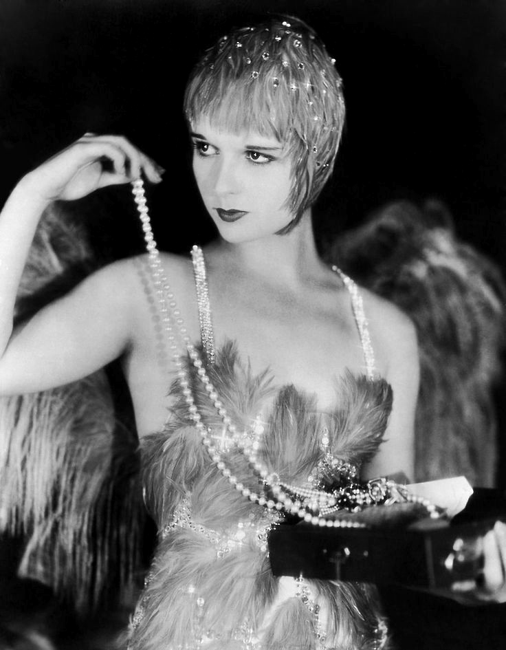 1929: Louise Brooks in The Canary Murder Case.