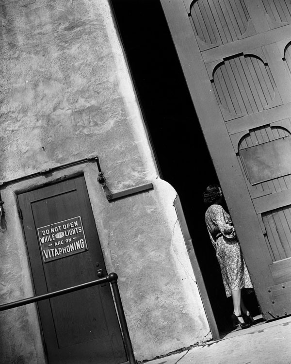 1937, soundstage, photographed by Schuyler Crail