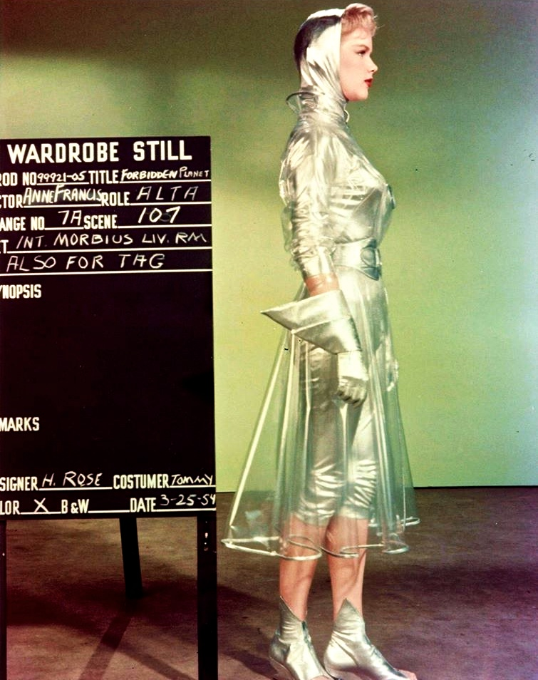 anne-francis-costume-test-forbidden-planet & For those extraterrestrial April showers on the Forbidden Planet ...