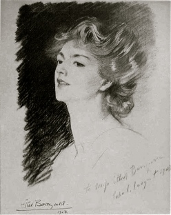 Ethel Barrymore by John Singer Sargent