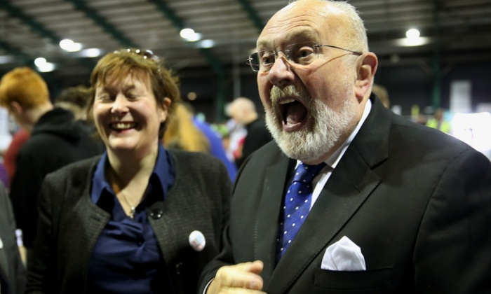 David Norris photographed by Brian Lawless/PA