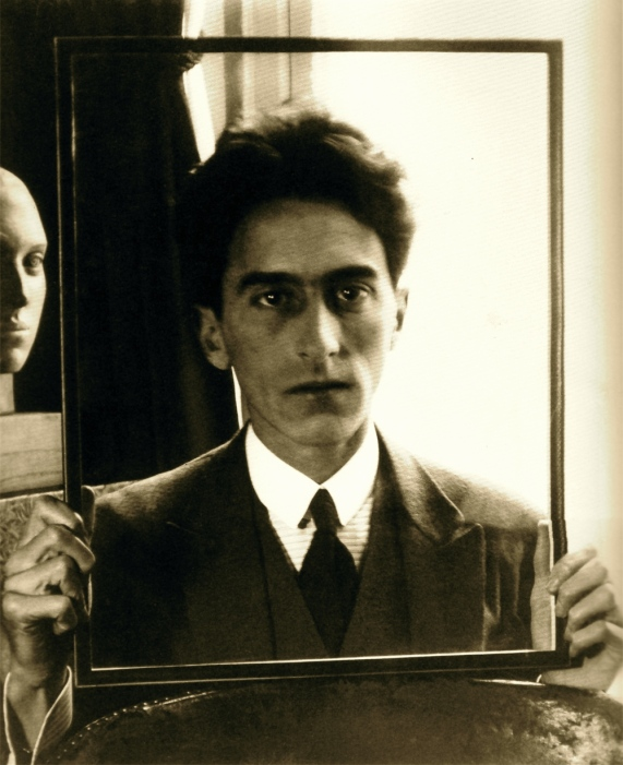 Man Ray photograph of Jean Cocteau 1922