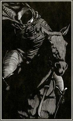 The Headless Horseman, woodcut by Barry Moser, Artist and Professor Emeritus, RISD
