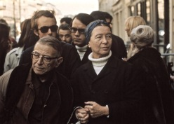 1970 Paris Sartre de Beauvoir