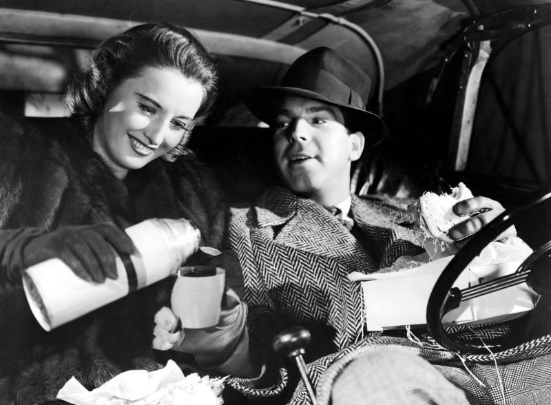 REMEMBER THE NIGHT, Barbara Stanwyck, Fred MacMurray, 1940