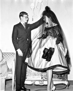 yves st laurent 1958 LA i magnin