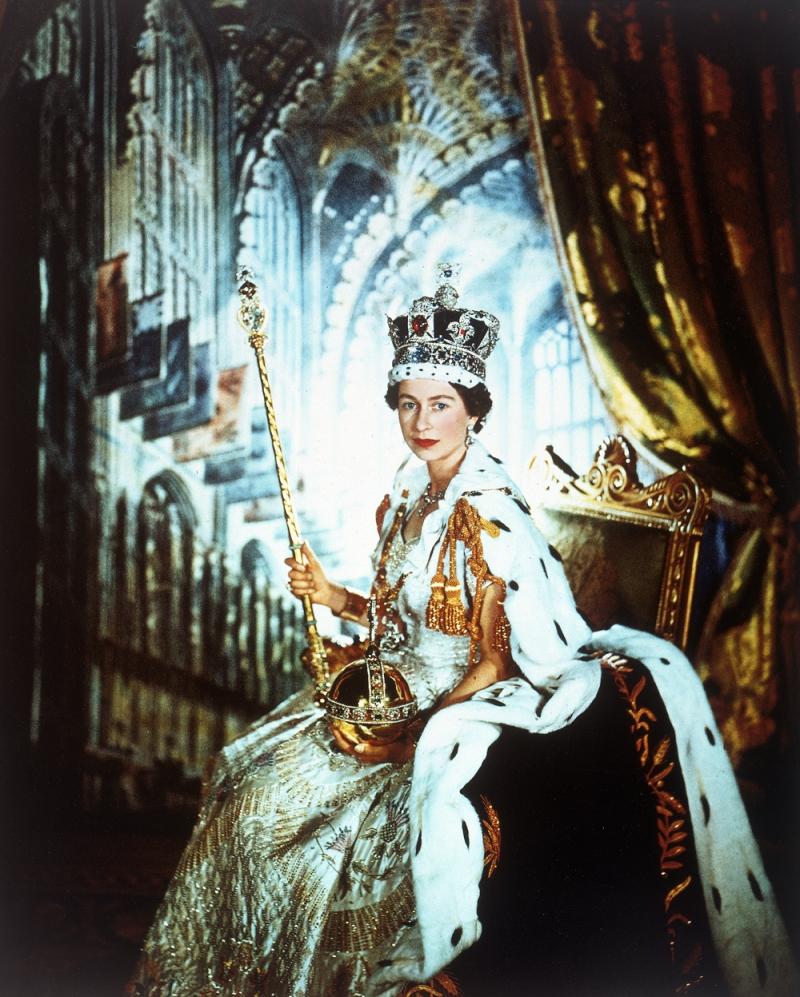 Queen Elizabeth's coronation, 1953, by Cecil Beaton