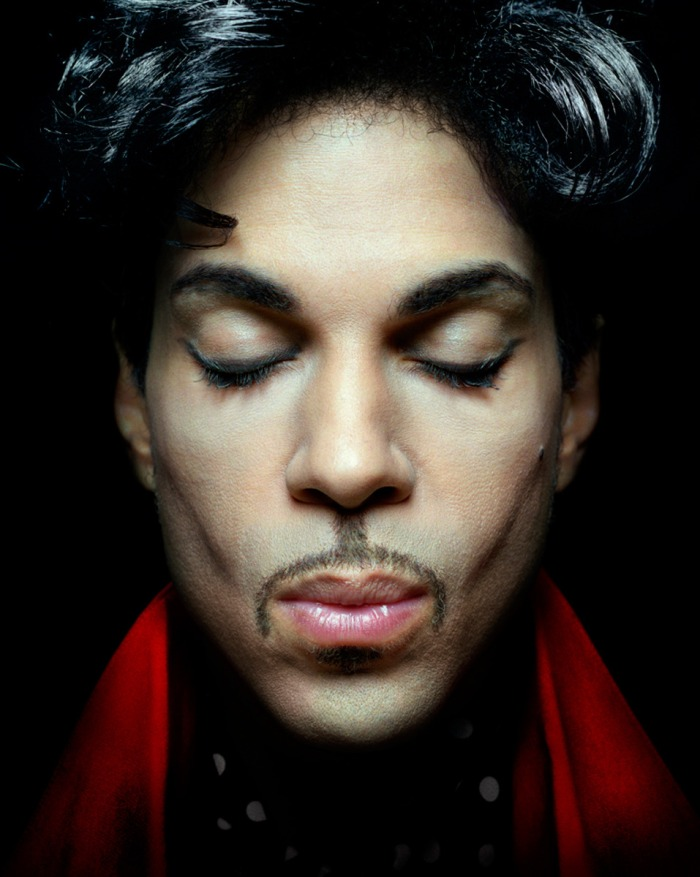 Prince, portrait by Annie Leibovitz