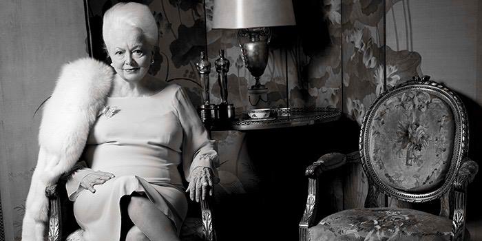 Olivia de Havilland Paris