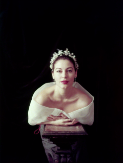 Ava Gardner photographed by Milton H. Greene (1954)