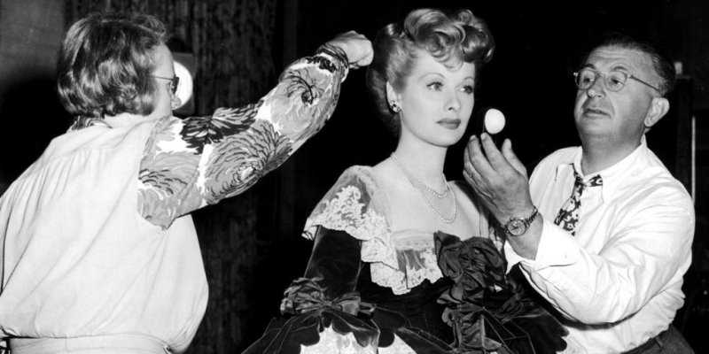 Lucille Ball on the set of Du Barry was a Lady