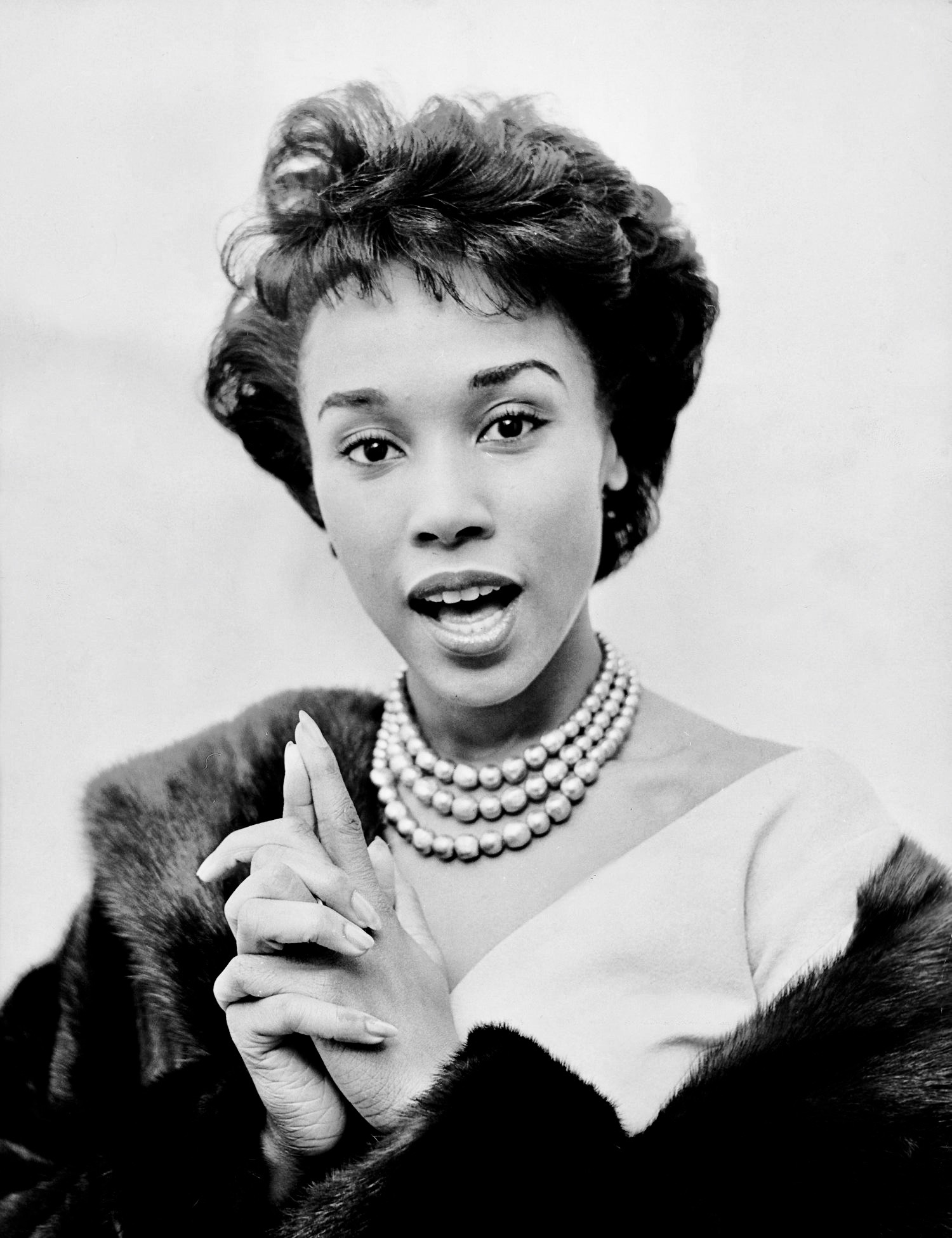 """""""All I ever wanted to do was sing. What happened was more."""" Diahann Carroll"""
